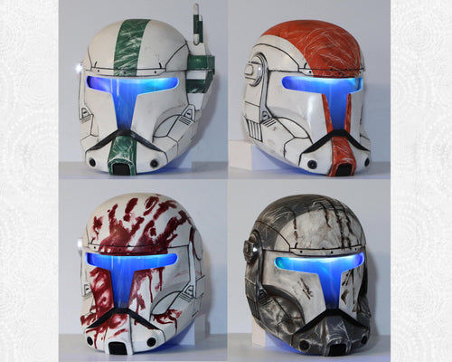 Commando Helmets - Inspired by Republic Commando