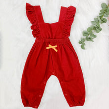 Load image into Gallery viewer, Ari Red Romper