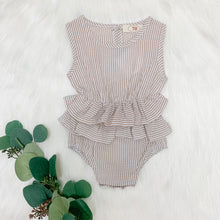 Load image into Gallery viewer, Kate Striped Romper