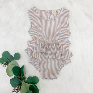Kate Striped Romper