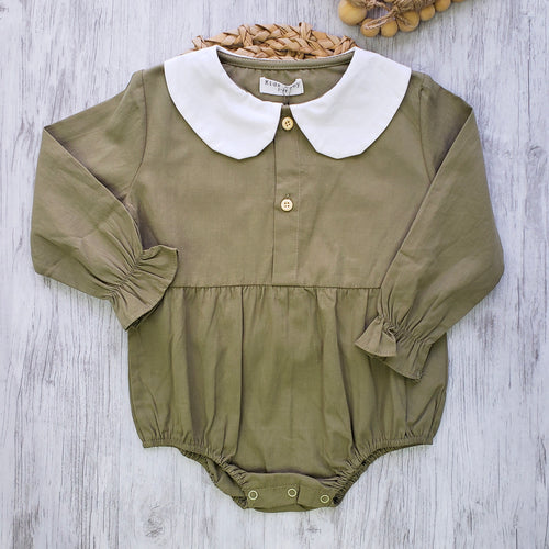 Peter Pan Collar Romper