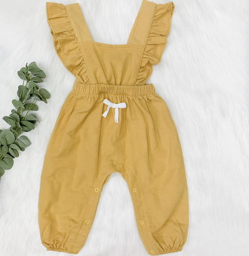 Ari Yellow Romper