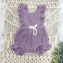 Load image into Gallery viewer, Summer Violet Romper