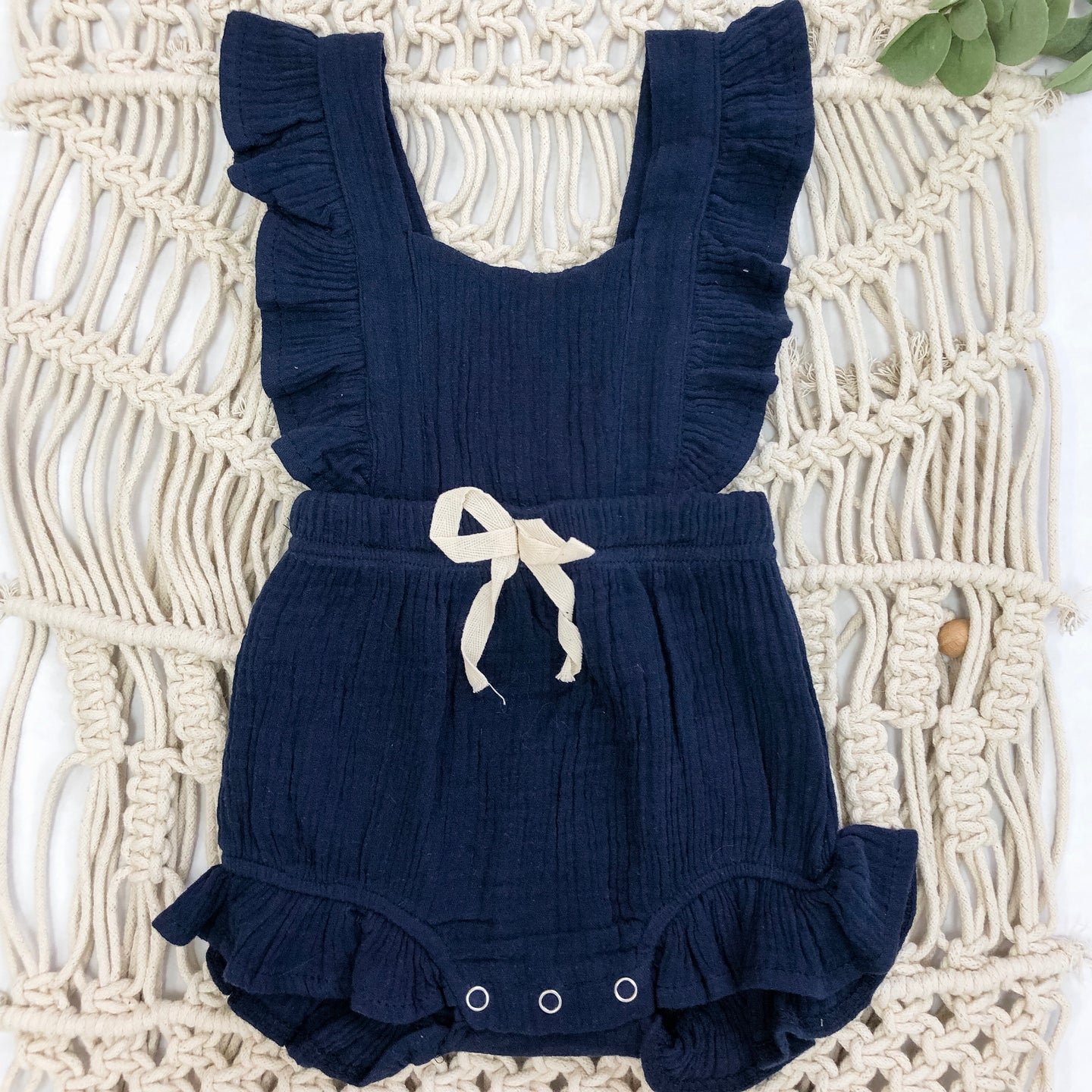 Summer Blue Romper