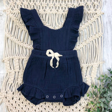 Load image into Gallery viewer, Summer Blue Romper
