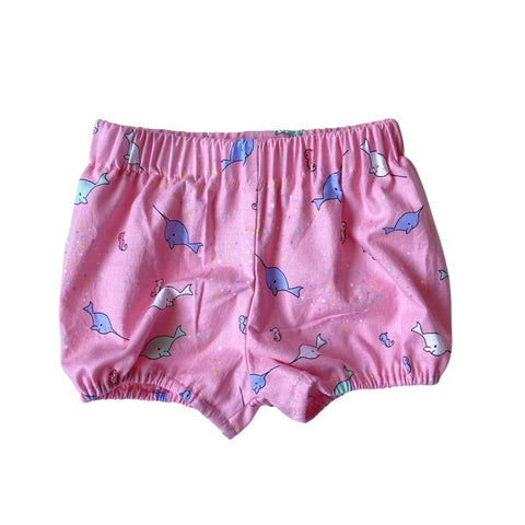 pink narwhal bloomers