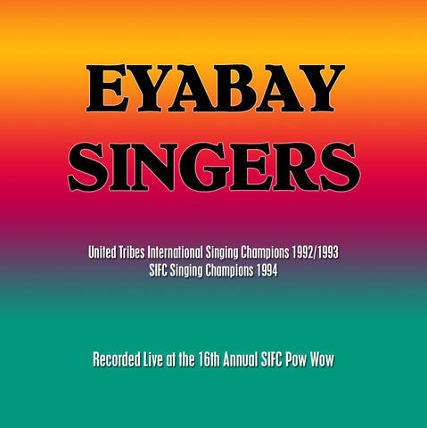 Eyabay (Ojibway/English/Dakota)