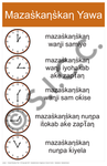 Clocks – Reading Time (Lakota)