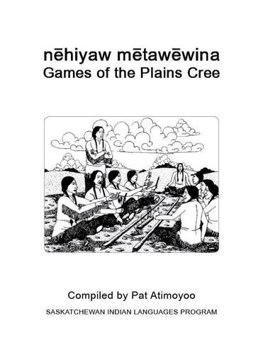 Games of the Plains Cree (English)