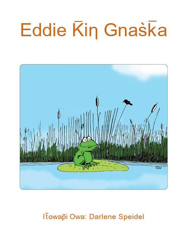 Eddie The Frog (Lakota)