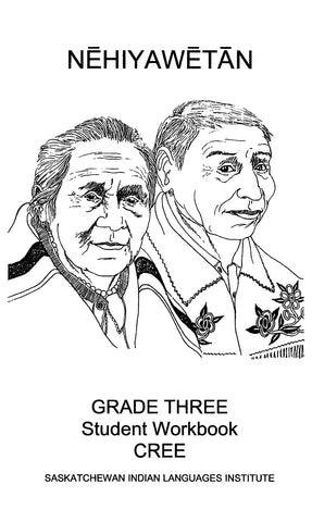 Grade 3 - Workbook (Plains Cree Y / English)