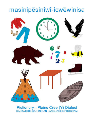 Pictionary (Plains Cree Y)