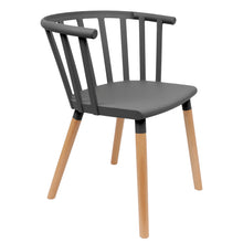 Load image into Gallery viewer, Black Vintage Dining Chairs