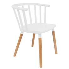 Load image into Gallery viewer, White Vintage Dining Chairs