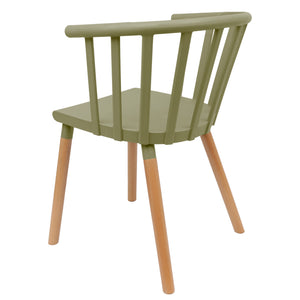 Green Vintage Dining Chairs