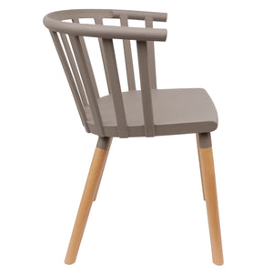 Grey Vintage Dining Chairs