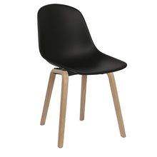 Load image into Gallery viewer, Black Contemporary Dining Chairs Uk