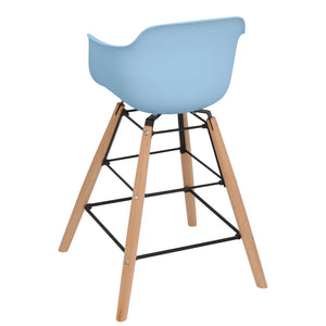 Scandinavian Wooden Highchair Kid<br>Avon