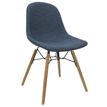 Load image into Gallery viewer, Blue Upholstered Dining Chairs