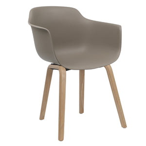 brown contemporary dining chairs
