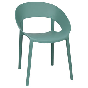 Green Plastic chairs