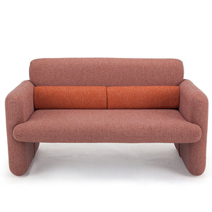 Red Cosy Comfortable Couch
