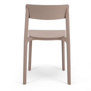 Brown Plastic Dining Chairs