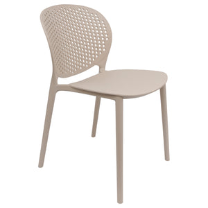 beige garden chairs