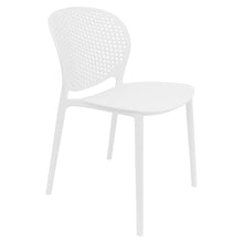 Load image into Gallery viewer, white garden chairs