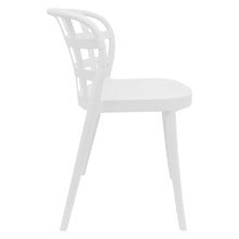 Load image into Gallery viewer, White outdoor chairs