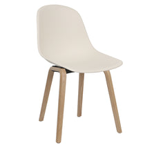 Load image into Gallery viewer, White Contemporary Dining Chairs Uk