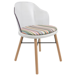 upholstered retro dining chairs uk