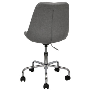 grey office chairs upholstered