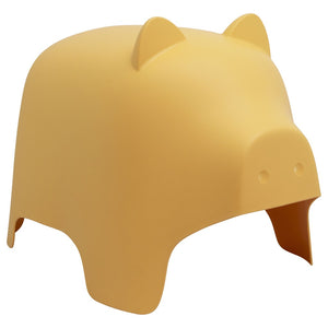Yellow Pig Chair