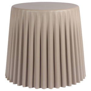 Warm Grey Kids Stool