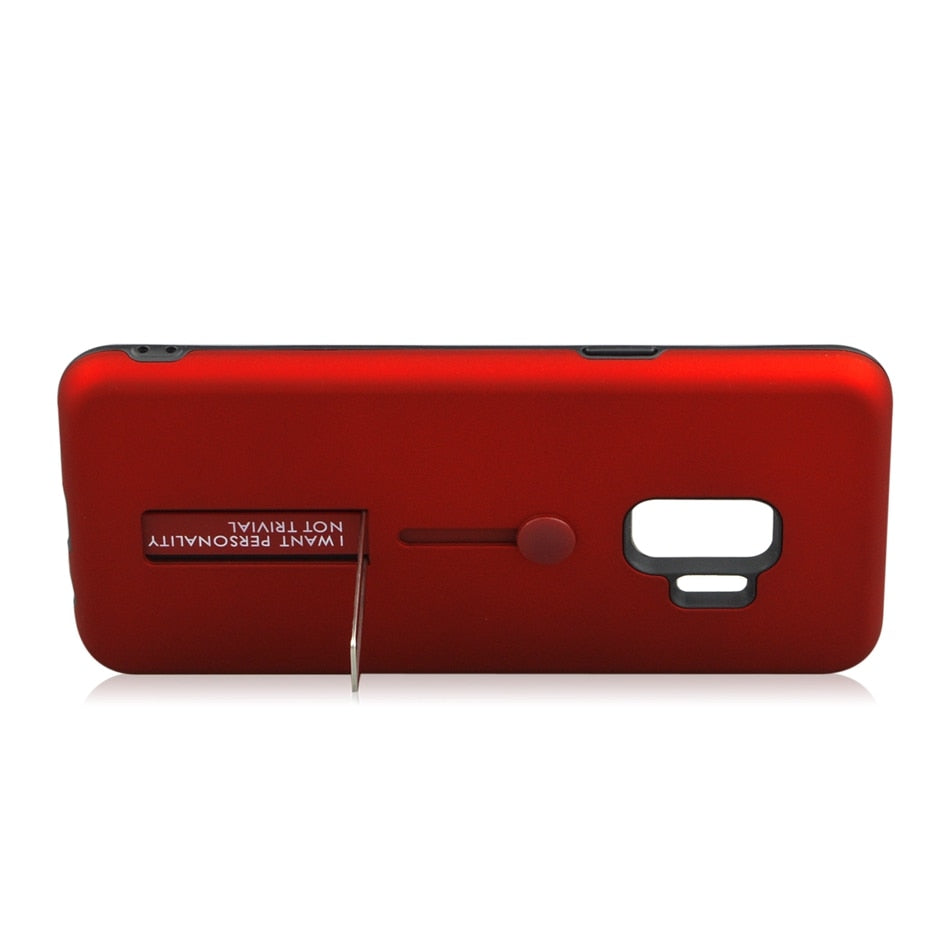 Coque avec support ajustable doigt pour Samsung Galaxy S/Note