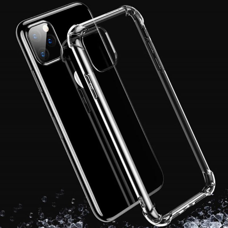 Coque antichoc transparente pour iPhone 12