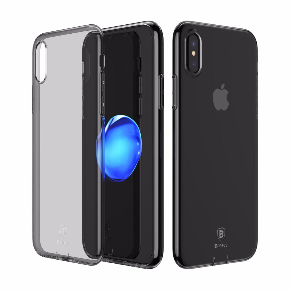 Coque transparente pour iPhone X