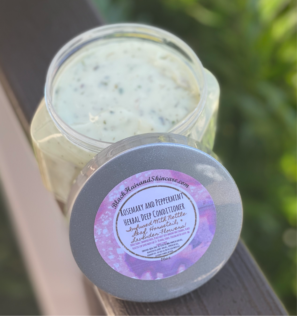 Product Highlight: Rosemary and Peppermint Herbal Deep Conditioner