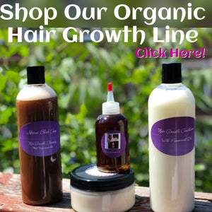 Organic Hair Growth Oil and Hair Growth Products to Grow Your Hair From CCCA Alopecia, Male pattern Baldness, and Hair Loss