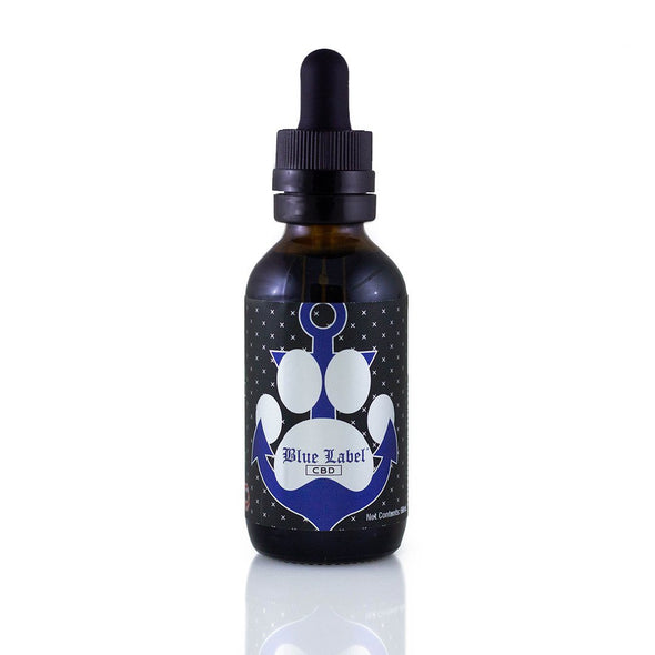 BLUE LABEL ELIXIR | Pet Tincture (Bacon Flavor) - 500MG CBD For Pets Blue Label Elixir