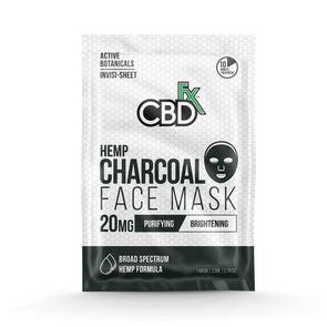 CBDfx | CBD Charcoal Face Mask CBD Topical Cream CBDfx