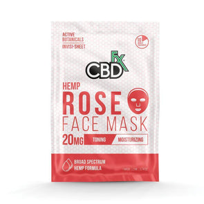 CBDfx | CBD Rose Face Mask CBD Topical Cream CBDfx