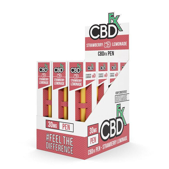 CBDfx | CBD Vape Pen Strawberry Lemonade CBD Vape Pen CBDfx