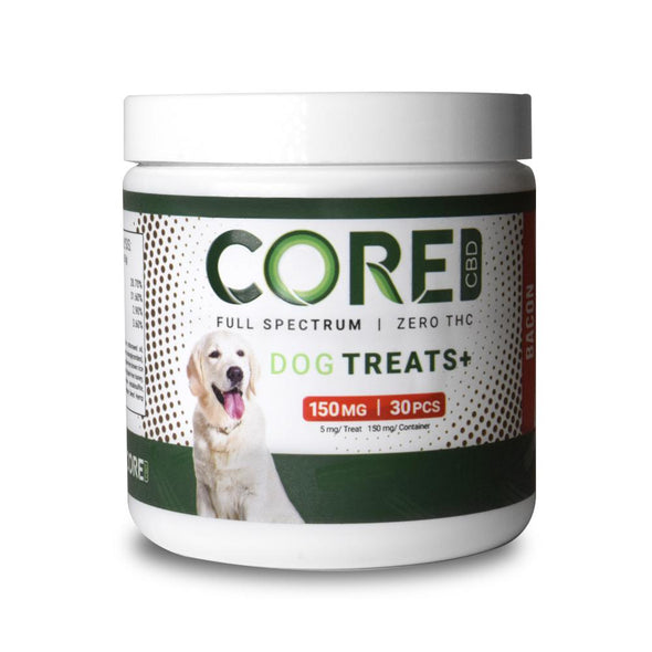 CORE CBD | Bacon Flavor CBD Dog Treats CBD For Pets CORE CBD