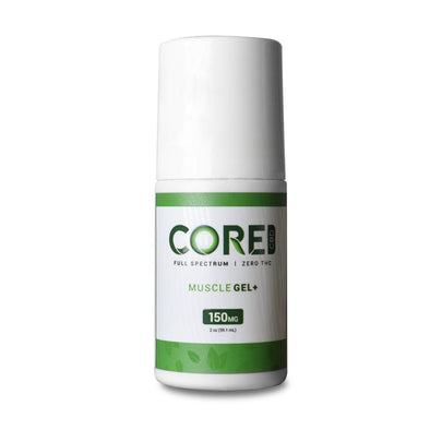 CORE CBD | Muscle Gel 150MG CBD Topical Cream CORE CBD