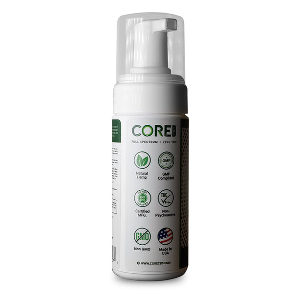 CORE CBD | No Rinse CBD Pet Shampoo CBD For Pets CORE CBD
