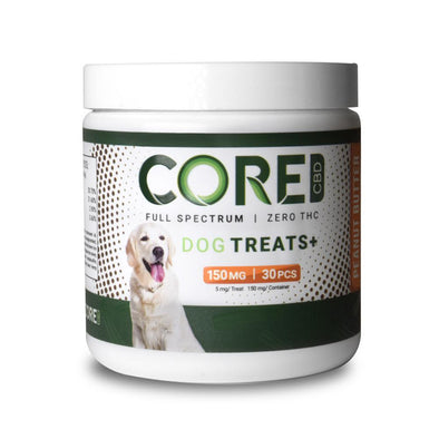 CORE CBD | Peanut Butter Flavor CBD Dog Treats CBD For Pets CORE CBD