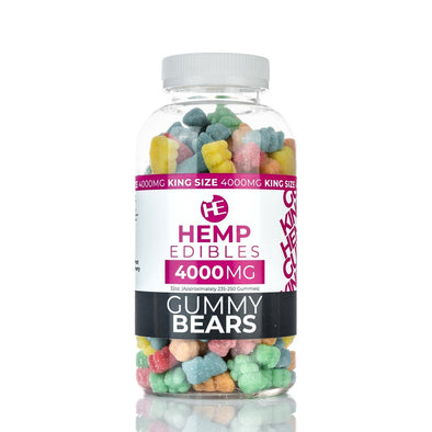 Hemp Edibles | Gummies - 4000MG Premium Hemp Extract CBD Gummies Hemp Edibles