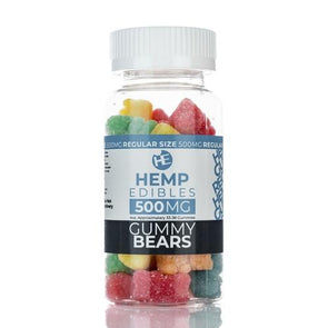 Hemp Edibles | Gummies - 500MG Premium Hemp Extract CBD Gummies Hemp Edibles